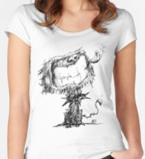 Scruffy Dog Women's Fitted Scoop T-Shirt