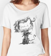 Scruffy Dog Relaxed Fit T-Shirt