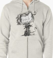 Scruffy Dog Zipped Hoodie