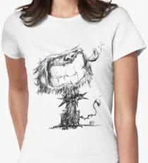 Scruffy Dog Women's Fitted T-Shirt