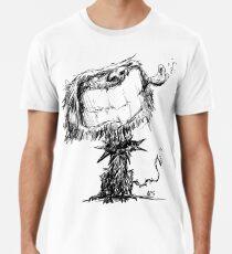 Scruffy Dog Men's Premium T-Shirt