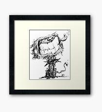 Scruffy Dog Framed Print