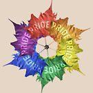Leaf Pride Pinwheel by technoqueer