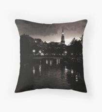 Leiden At Dusk XII Throw Pillow