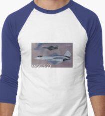 PHOTO201A Men's Baseball ¾ T-Shirt