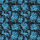 Blue Floral  by hayleylauren