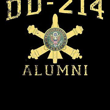 US Army Shirt Air Defense DD214 T Shirt by thehadgaddad