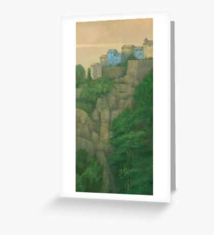 Ochre Hill-Top Greeting Card