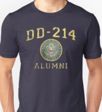 US Army Shirt Alumni Hero Veteran DD214 T Shirt Unisex T-Shirt