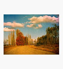 The Road Home Photographic Print