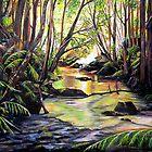 Blue Mountains Creek by Linda Callaghan