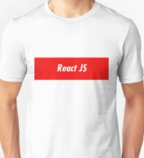 React JavaScript Developer - Programming Stickers and items Unisex T-Shirt