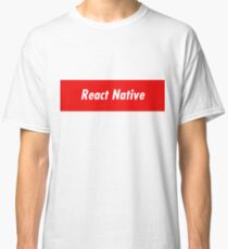 React Native Developer - Programming Stickers and Items Classic T-Shirt