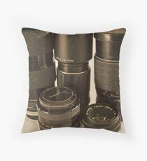 Various Lenses Throw Pillow