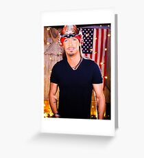 Bret michaels greeting cards redbubble bret michaels style tour 2018 butuh greeting card m4hsunfo