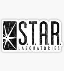 STAR Laboratories Shirt, S.T.A.R. Labs, STAR Labs Shirt, TV Series, Vintage Distressed Unisex Shirt Sticker