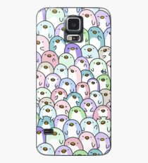 Funda/vinilo para Samsung Galaxy Pingüino Snuggles