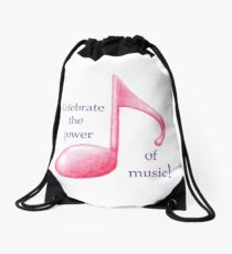 Mochila de cuerdas Celebra el poder de la música