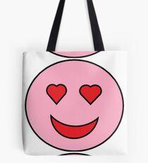 Sweet Happy Emoji Tote Bag
