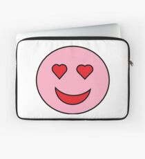Sweet Happy Emoji Laptop Sleeve