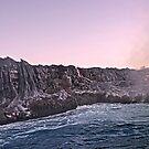 Sunrise Over Kilauea's Lava Flow. by Alex Preiss