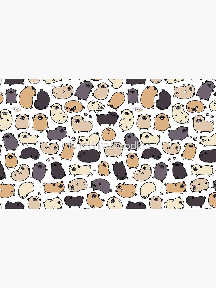 Pug Life Doodle de KiraKiraDoodles