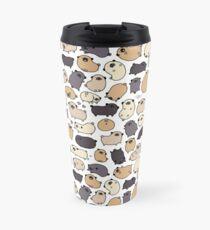Pug Life Doodle Travel Mug