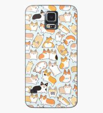 Corgilicious Corgi Doodle Case/Skin for Samsung Galaxy