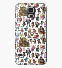 Cute Gravity Falls Doodle Case/Skin for Samsung Galaxy