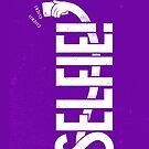 Selfie - purple by kdigraphics