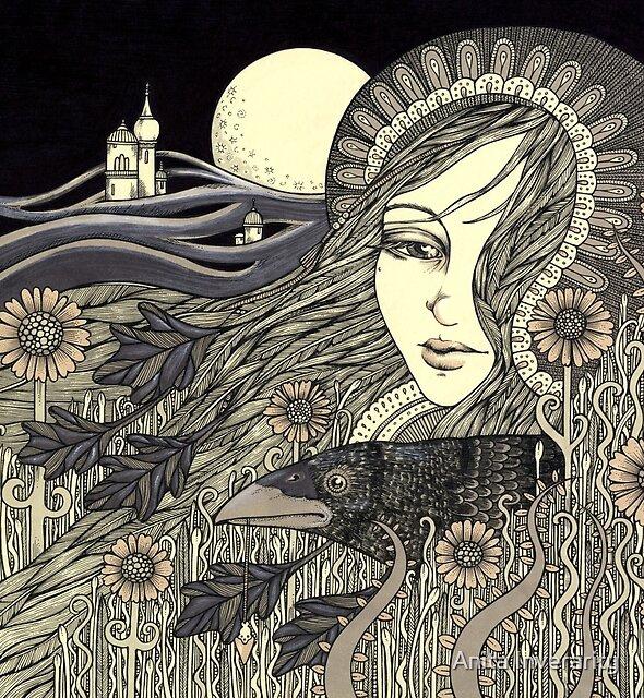 The Morrigan by Anita Inverarity