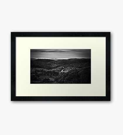 A Nomadic Way Framed Print