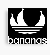trio of bananas Canvas Print