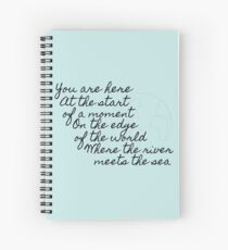 You Are Here Spiral Notebook