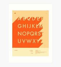 FUTURA (UPPER) Art Print