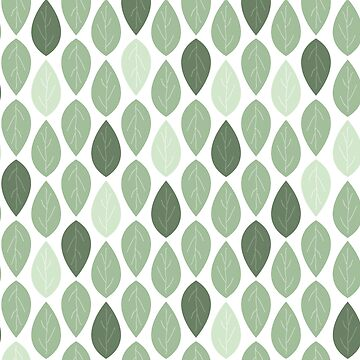 Grean Leaf Pattern by cletterle