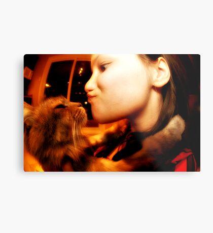 Kiss Of Love Metal Print