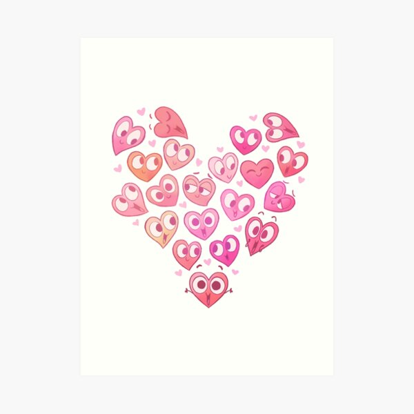 In a Heartbeat - Shirley & Friends Art Print