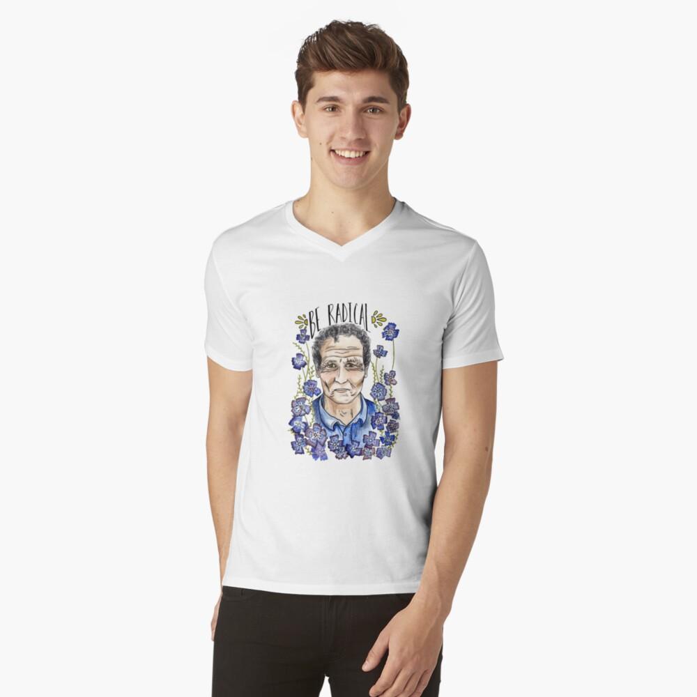 Monty Don Camiseta de cuello en V