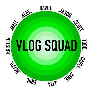 vlog squad circle-true green by rubyoakley