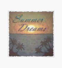Summer Dreams Retro Surf Design   Scarf