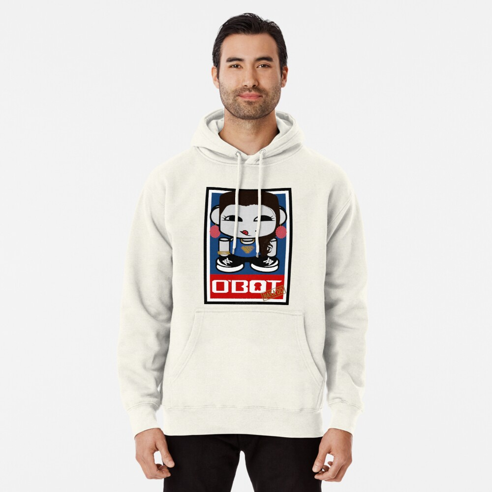 Naka Do O'BOT Toy Robot 2.0 Pullover Hoodie