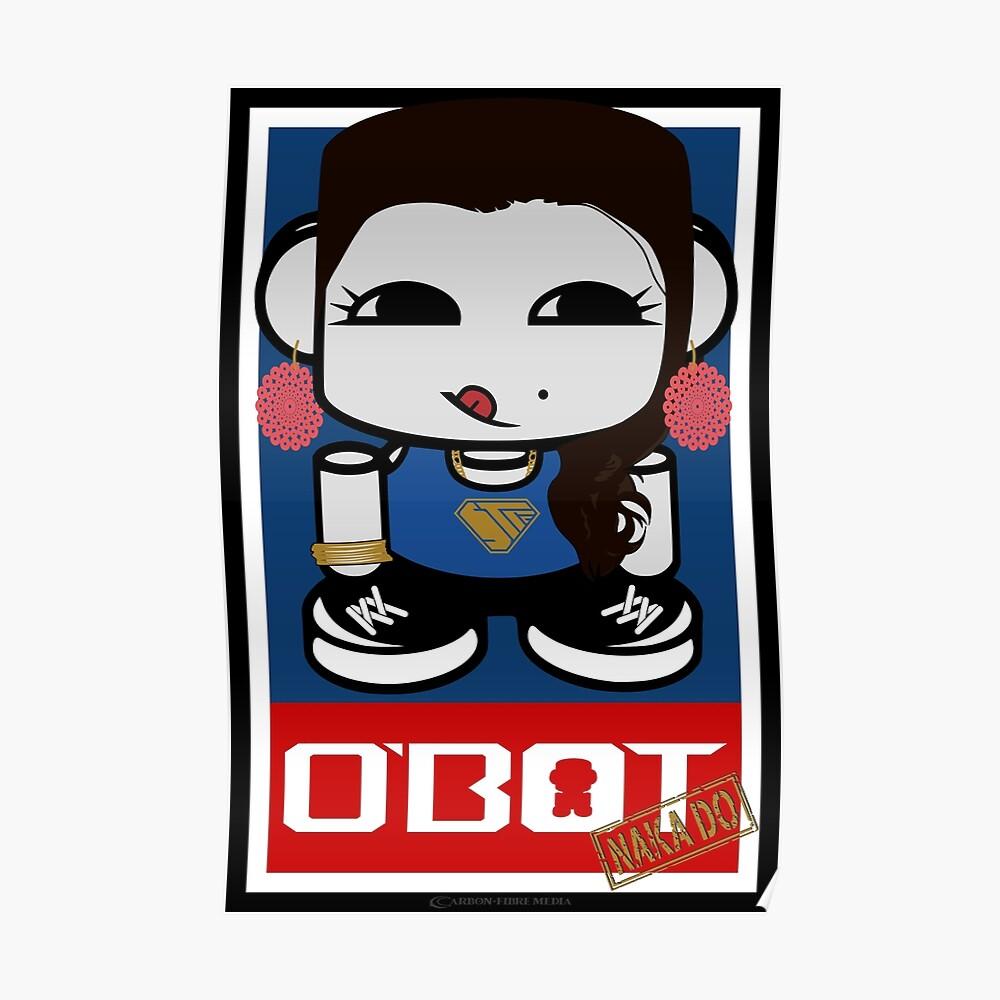 Naka Do O'BOT Toy Robot 2.0 Poster