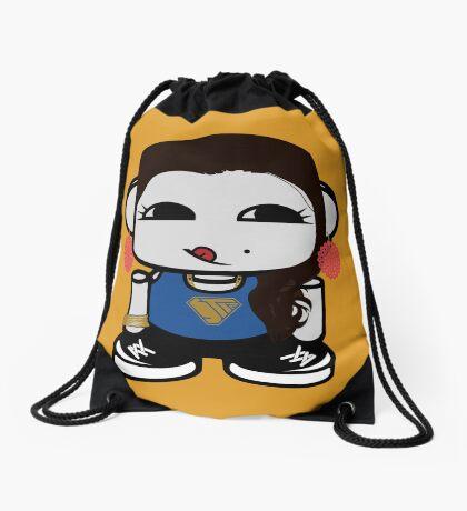 Naka Do O'BOT Toy Robot 1.0 Drawstring Bag
