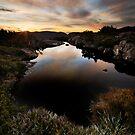 Tarn Shelf Dawn by Robert Mullner