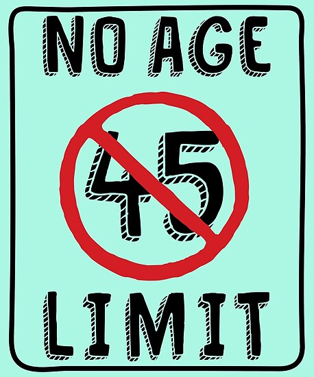 No Age Limit 45th Birthday Gifts Funny B Day For 45 Year Old