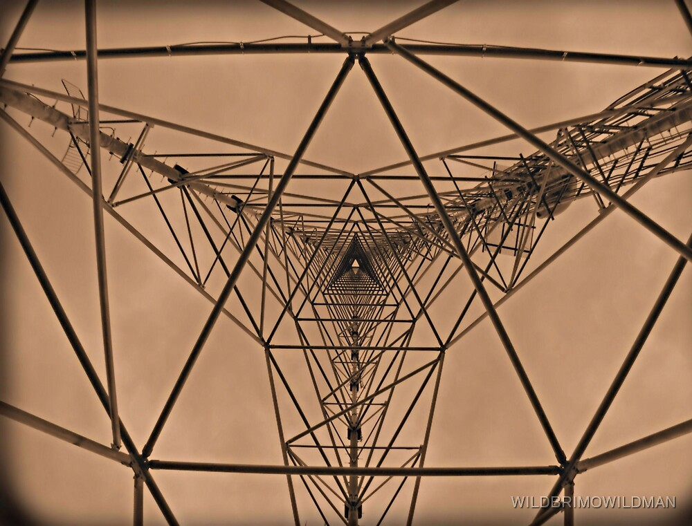 Inside The Communication Tower by WILDBRIMOWILDMAN