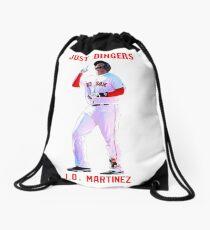 """J.D. Martinez - """"Just Dingers"""" Drawstring Bag"""