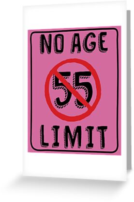 No Age Limit 55th Birthday Gifts Funny B Day For 55 Year Old