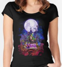 Majora's Mask 3D  Women's Fitted Scoop T-Shirt